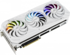 Видеокарта nVidia GeForce RTX3080 ASUS 10Gb LHR (ROG-STRIX-RTX3080-O10G-WHITE-V2)
