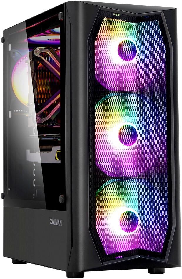 Игровой компьютер CompDay №346 Intel Core i3 - 10300 3.7 ГГц / Чипсет H410M / Radeon RX 560 4Gb