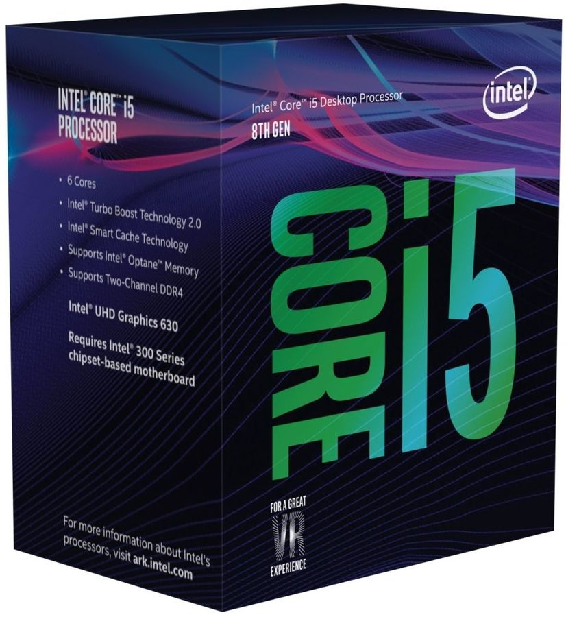 Core i5-8500 Coffee Lake (3000MHz, LGA1151 v2, L3 9216Kb) BOX